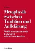 Metaphysik zwischen Tradition und Aufklaerung (eBook, ePUB)