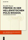 Fremde in der hellenistischen Polis Rhodos (eBook, ePUB)