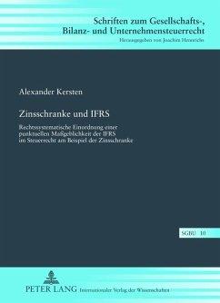 Zinsschranke und IFRS (eBook, PDF) - Kersten, Alexander