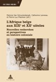 L'Afrique belge aux XIXe et XXe siecles (eBook, ePUB)