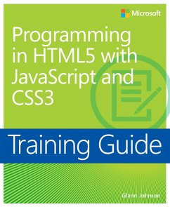 Training Guide Programming in HTML5 with JavaScript and CSS3 (MCSD) (eBook, PDF) - Johnson, Glenn