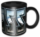 Kiss Chrome Logo Black Boxed Mug