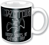 Led Zeppelin 77 Usa Tour Ceramic Boxed Mug