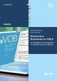 Rechtssichere Musterbriefe zur VOB/B (eBook, PDF)
