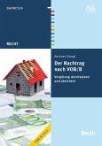 Der Nachtrag nach VOB/B (eBook, PDF)
