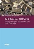 RoHS-Richtlinie 2011/65/EU (eBook, PDF)