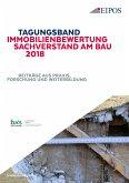 Tagungsband Immobilienbewertung und Sachverstand am Bau 2018. (eBook, PDF)