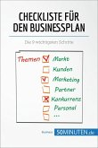 Checkliste für den Businessplan (eBook, ePUB)