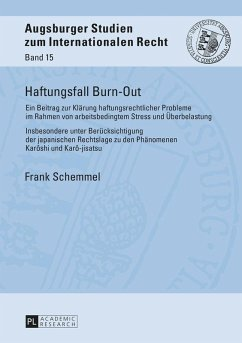 Haftungsfall Burn-Out (eBook, ePUB) - Schemmel, Frank