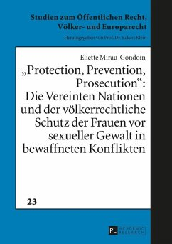 Protection, Prevention, Prosecution (eBook, ePUB) - Mirau-Gondoin, Eliette