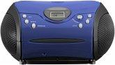 Lenco SCD-24 blau/schwarz
