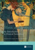 Music as Message (eBook, ePUB)