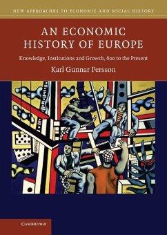 Economic History of Europe (eBook, ePUB) - Persson, Karl Gunnar