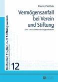 Vermoegensanfall bei Verein und Stiftung (eBook, PDF)