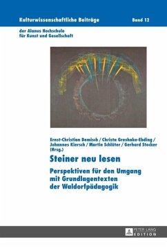 Steiner neu lesen (eBook, ePUB)