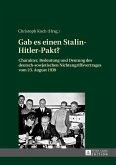 Gab es einen Stalin-Hitler-Pakt? (eBook, ePUB)
