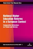 National Higher Education Reforms in a European Context (eBook, PDF)