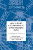 Measuring and Managing Operational Risk (eBook, PDF)