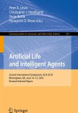 Artificial Life and Intelligent Agents (eBook, PDF)
