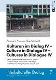Kulturen im Dialog IV - Culture in Dialogo IV - Cultures in Dialogue IV (eBook, ePUB)