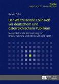 Der Weltreisende Colin Ro vor deutschem und oesterreichischem Publikum (eBook, ePUB)