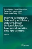 Improving the Profitability, Sustainability and Efficiency of Nutrients Through Site Specific Fertilizer Recommendations in West Africa Agro-Ecosystems (eBook, PDF)