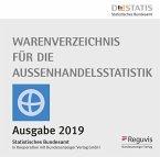 Warenverzeichnis für die Außenhandelsstatistik 2019, 1 CD-ROM