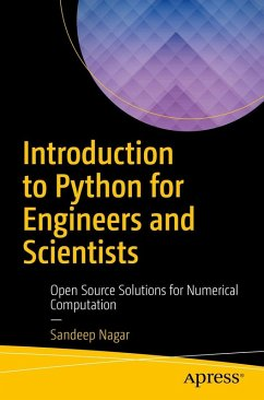 Introduction to Python for Engineers and Scientists (eBook, PDF) - Nagar, Sandeep