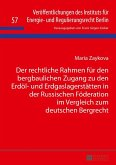Der rechtliche Rahmen fuer den bergbaulichen Zugang zu den Erdoel- und Erdgaslagerstaetten in der Russischen Foederation im Vergleich zum deutschen Bergrecht (eBook, ePUB)