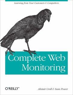 Complete Web Monitoring (eBook, ePUB) - Croll, Alistair