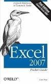 Excel 2007 Pocket Guide (eBook, PDF)