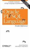 Oracle PL/SQL Language Pocket Reference (eBook, PDF)
