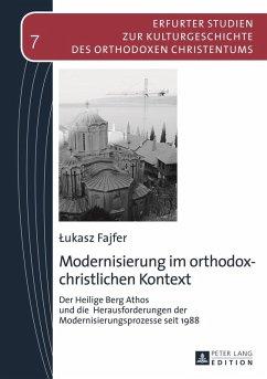 Modernisierung im orthodox-christlichen Kontext (eBook, PDF) - Fajfer, Lukasz