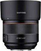 Samyang AF 1,4/85 Canon EF Objektiv für Canon (77 mm Filtergewinde, Vollformat / APS-C Sensor)