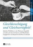 Gleichberechtigung und Gleichwertigkeit? (eBook, PDF)