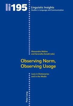 Observing Norm, Observing Usage (eBook, PDF)