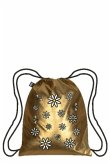 LOQI Backpack METALLIC Gold Pop Backpack