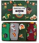 Festival Socks Box - Men, Sockenset von 4 Paar