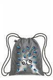 LOQI Backpack METALLIC Matt Silver Backpack