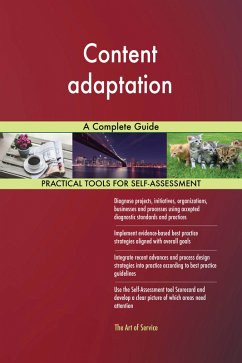 Content adaptation A Complete Guide (eBook, ePUB)