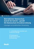 Betrieblicher Datenschutz Schritt für Schritt - gemäß EU-Datenschutz-Grundverordnung (eBook, PDF)