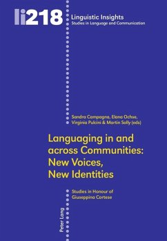 Languaging in and across Communities: New Voices, New Identities (eBook, PDF)