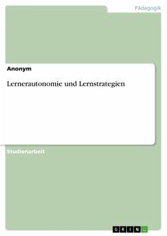 Lernerautonomie und Lernstrategien (eBook, PDF)
