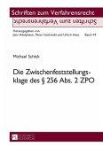 Die Zwischenfeststellungsklage des 256 Abs. 2 ZPO (eBook, PDF)