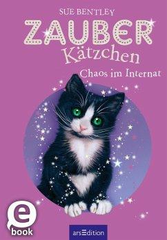 Zauberkätzchen - Chaos im Internat (eBook, ePUB) - Bentley, Sue
