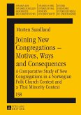 Joining New Congregations - Motives, Ways and Consequences (eBook, PDF)
