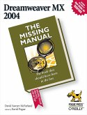 Dreamweaver MX 2004: The Missing Manual (eBook, ePUB)