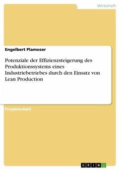 Potenziale der Effizienzsteigerung des Produktionssystems eines Industriebetriebes durch den Einsatz von Lean Production (eBook, PDF)