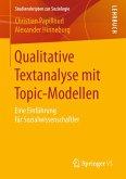Qualitative Textanalyse mit Topic-Modellen (eBook, PDF)