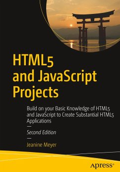 HTML5 and JavaScript Projects - Meyer, Jeanine
